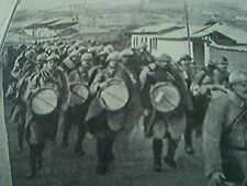 book picture - ww1 world war one - 1915 - - french veterans marching out of kava