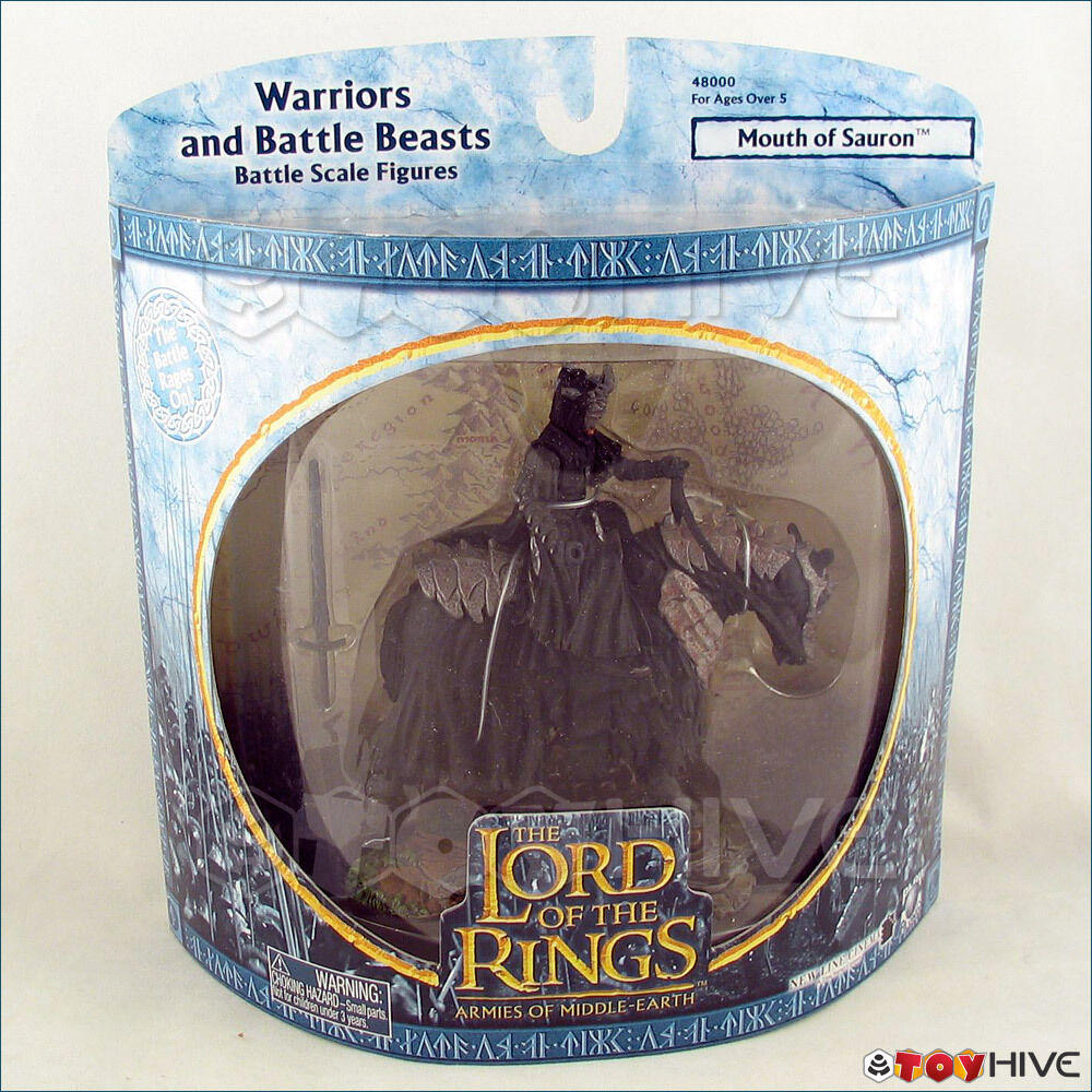 Lord of the Rings LOTR AOME Warriors & Beasts Mouth of Sauron