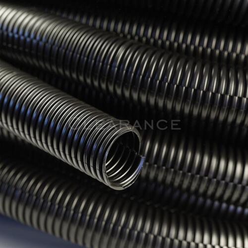 "Polyethylene Tubing Car Automotive Power Amp 1/"" Split Wire Loom Conduit 20 Ft"