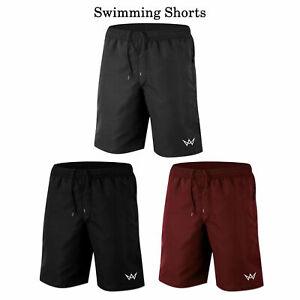 Mens-Swimming-Board-Shorts-Swimwear-Beach-Swim-Shorts-Summer-casual-Boys