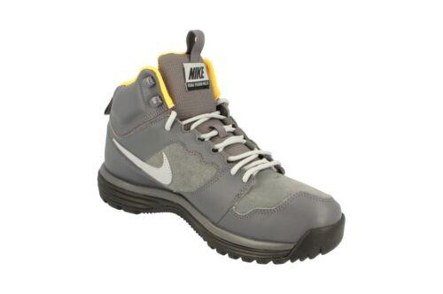 para para Hills Botas Uk Mid 8 Nike Dual Leather tamaño Fusion hombre gris caminar gqd7aq