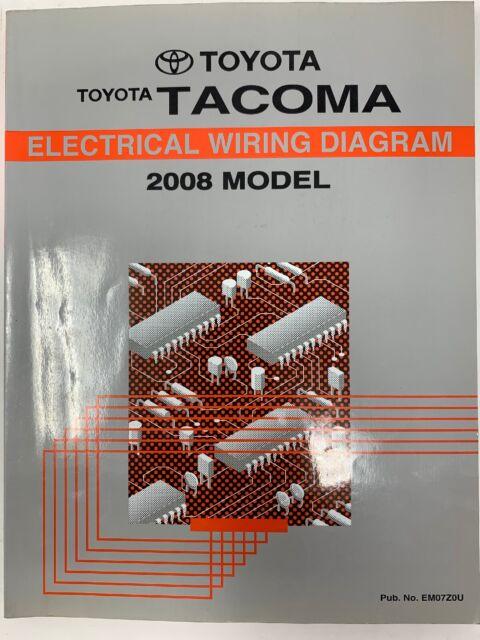 2008 Toyota Tacoma Electrical Wiring Diagram Repair Manual