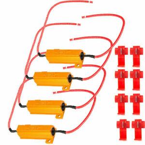 4x-50W-6-ohm-Load-Resistor-For-Fix-LED-Bulb-Fast-Hyper-Flash-Turn-Signal-Blinker
