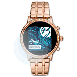 Bruni-2x-Ecran-protecteur-pour-Fossil-Julianna-HR-Protecteur-d-039-ecran