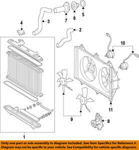 Toyota Oem 0204 Camryradiator Cooling Fan Blade 1636122030 Ebay. Is Loading Toyotaoem0204camryradiatorcoolingfan. Toyota. Fan Diagram 2004 Toyota Camry Interior At Scoala.co