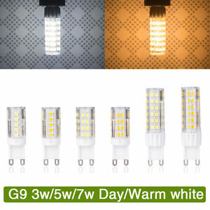 G9-3W-5W-7W-LED-Ampoule-Mais-Lampe-Capsule-blanc-chaud-Froid-Remplacer-halogene
