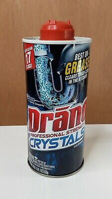 Drano Professional Strength Kitchen Crystals Clog Remover 18 Oz Htf 689852818461 Ebay