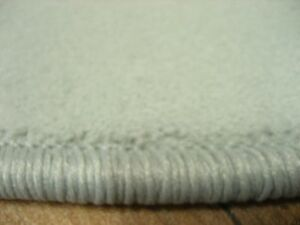 6614 neu runder teppich feiner velours rund grau 120 cm samt weich