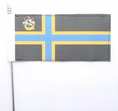 iron on flag x 2 of caithness other countys available