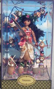 Vaiana Moana & Heihei Collection poupée designer Fairytale Fairytale Disney Neuve Nouveau