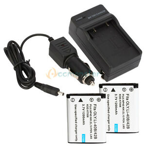 2-NP-80-Battery-Charger-for-Casio-Exilim-EX-Z330-EX-Z550-EX-S5-EX-S6BE-EX-S7BK