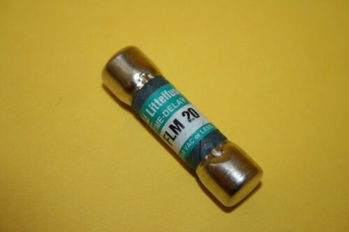 LITTELFUSE FLM20 time delay fusible x1 fba10a30