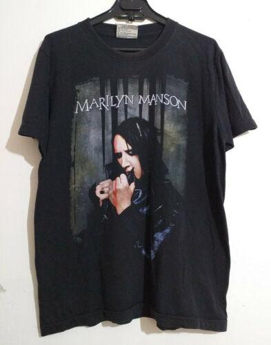 Tour Industrial rock Glam metal Shock rock Men/'s size XL Marilyn Manson Hey Cruel World..