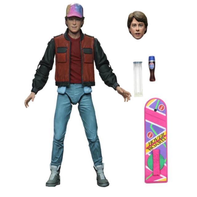 NECA Retour vers le Futur 2 Ultimate Marty McFly 18cm Action Figurine en PVC