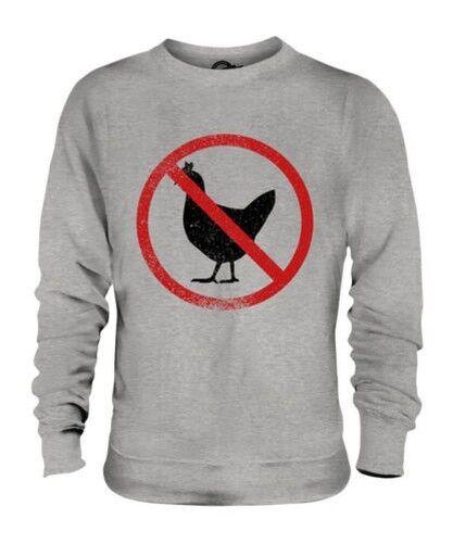 Alektorophobia ( Angst vor Hühner) Unisex Pullover Top Geschenk Phobia Angst
