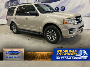 2017 Ford Expedition XLT| Leather Heated and Cooled Seats