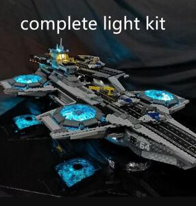 Led-Light-Kit-For-LEGO-Super-Heroes-The-SHIELD-Helicarrier-76042-the-Marvel