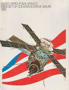 United-States-Postal-Service-Mint-Set-1974-Commemorative-Stamps-Complete
