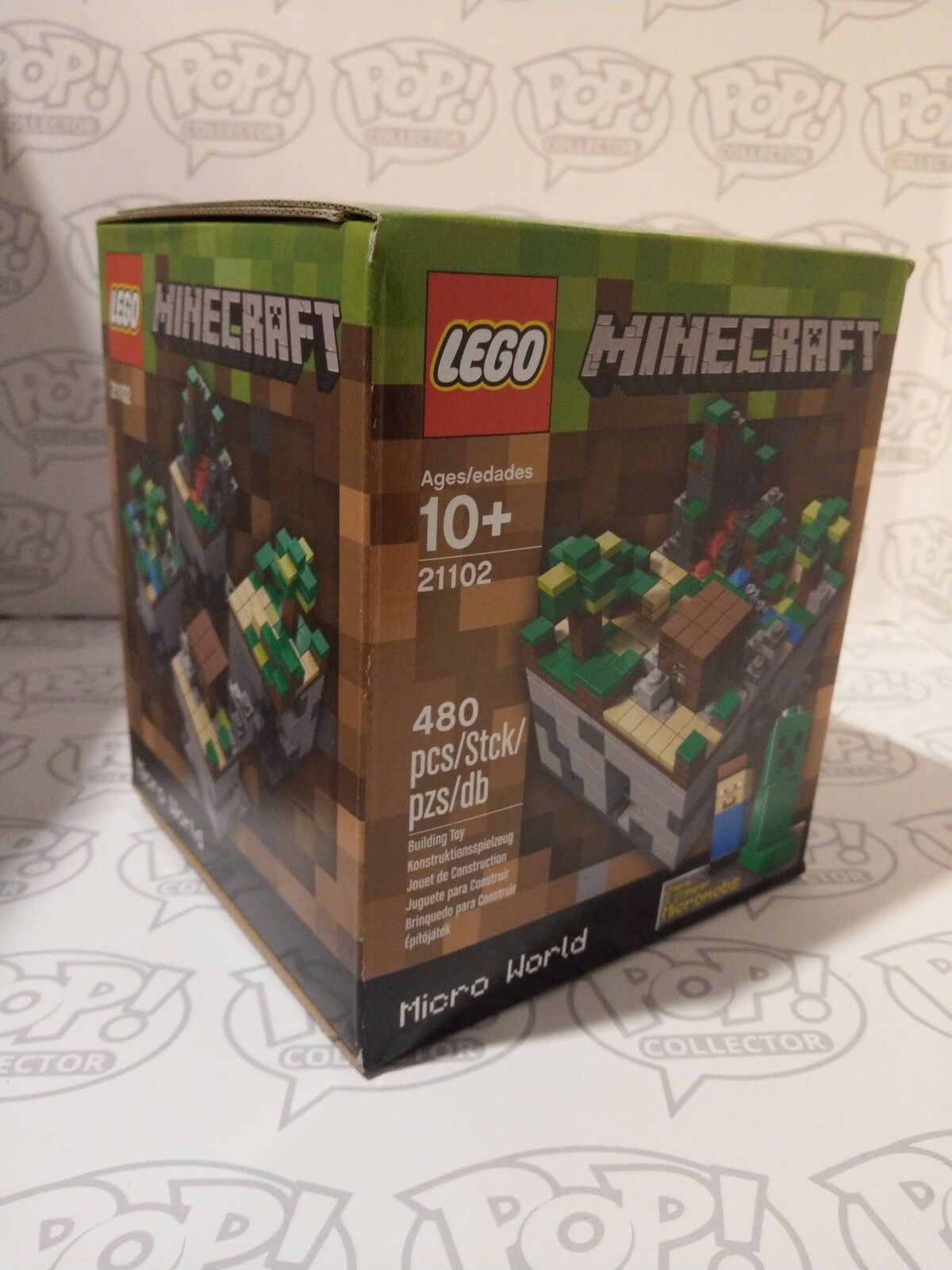 Lego 21102   CUUSOO Micro World MineCraft The Forest   Retired   Sealed