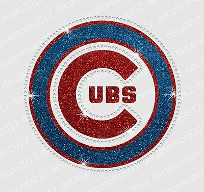 Lot of 3 Chicago Cubs Pink Embroidered Iron On Patch.