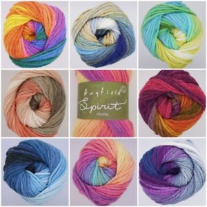 Sirdar-Hayfield-Spirit-CHUNKY-Self-Striping-Rainbow-Knitting-Wool-Yarn-100g
