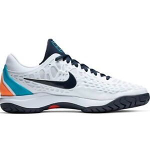 Nike-Air-Zoom-Cage-3-HC-Men-039-s-Tennis-New-With-Box-Size-US-11