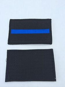 Thin Blue Red Line Morale Patch