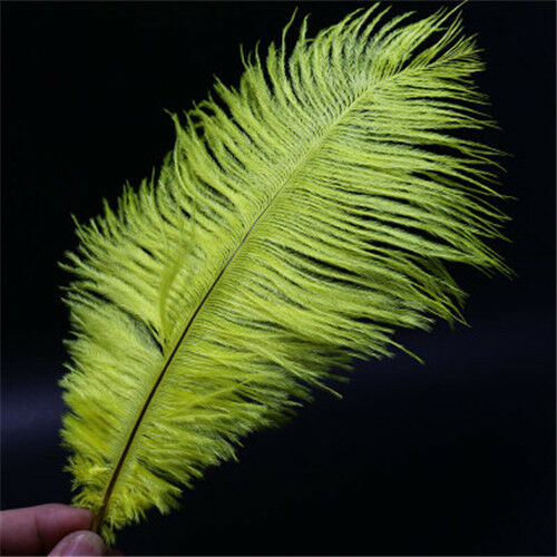 Details about  /8Colors Ostrich Feather Fly Tying Material For Fly Fishing Lure Bait Making
