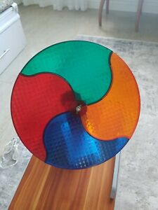 Vintage Motorized Color Wheel Rotating Light for Aluminum ...