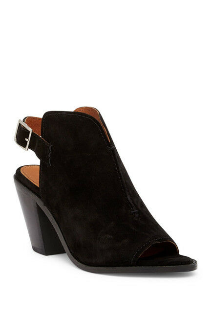 tutti i beni sono speciali Frye Donna  Courtney Slingback Mules scarpe Block Heel PeepToe PeepToe PeepToe  198 New  disegni esclusivi