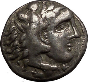 Ancient-Celtic-Silver-Tetradrachm-Coin-as-Greek-King-Alexander-the-Great-i57630