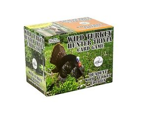 Deadeye Wild Turkey Hunter Trivia Card Game