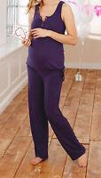 Schwangerschaft & Still Pyjama Neu Gr. 48/50 Umstandsmode Hausanzug Baby & Mama