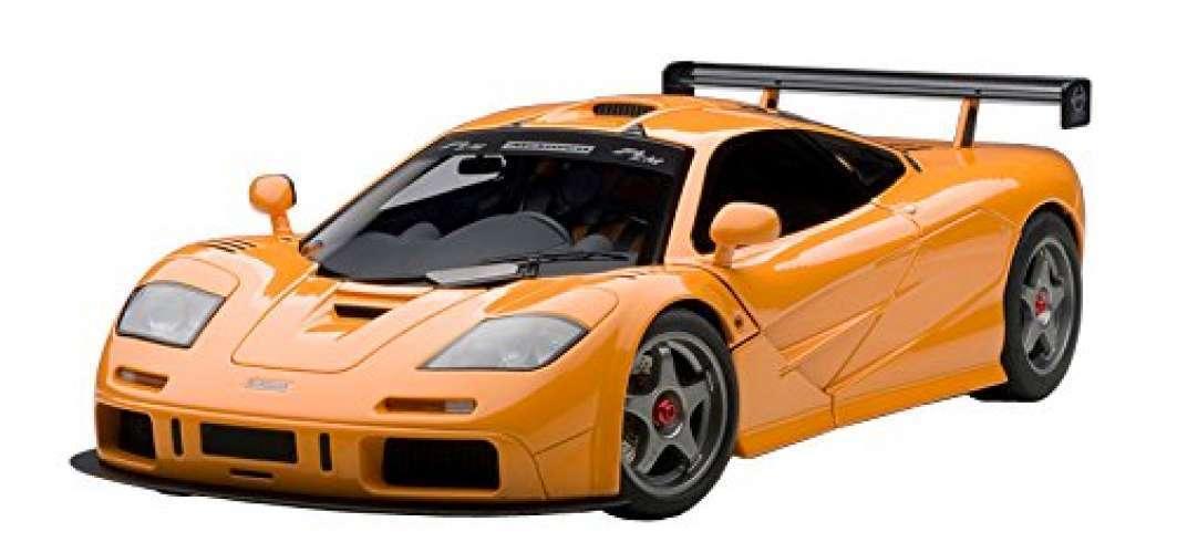 AUTOart 1 18 McLaren F1 LM Orange Nice produit fini F S du Japon