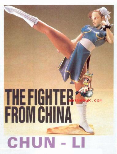 "Game Street Fighter Chunli Chun li 1//6 Vinyl Figure Model Kit 10/"""