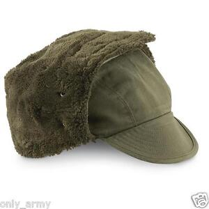 Dutch Army Cold Weather Hat Winter Trapper Hat Olive Green Military ... 9e671b660a6