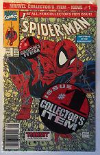 Spider-Man # 1 Bagged UPC Todd McFarlane NM Marvel Sealed Nm