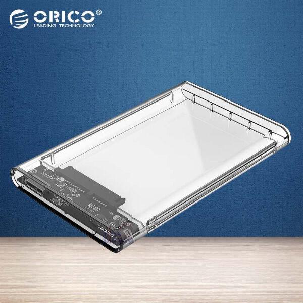 "ORICO Transparent 2.5/"" USB 3.0 External Hard Drive Enclosure Case SATA HDD com"