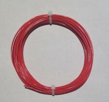 18 Awg Mil Spec Wire Ptfe Stranded Silver Plated Copper Type E Red 25 Ft