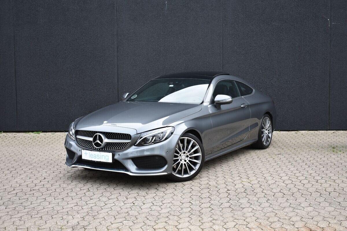 Mercedes C250 2,0 AMG Line Coupé aut. 2d - 2.643 kr.