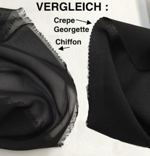 Crepe Georgette Tejido Materia Tela de Decoración Vestimenta Noche Boda