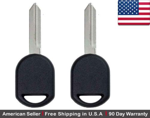 2x New Transponder Ignition Car Key for Ford Lincoln Mercury Mazda 40 Bit Chip