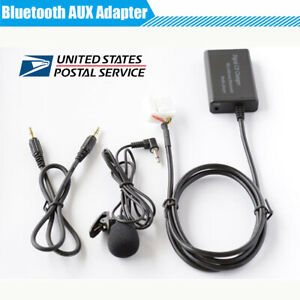 Car-AUX-Music-Bluetooth-Hands-Free-Adapter-with-Built-in-Microphone-For-Honda