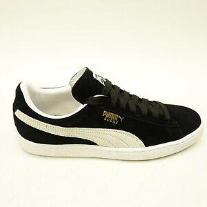 Details about New Puma Mens US 8.5 EU 41 Suede Classic + Low Top Black Shoes