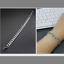 Kette-Armband-21cm-7MM-dick-Silber-Edelstahl-Panzerkette-fuer-Herren-Maenner-edel Indexbild 4
