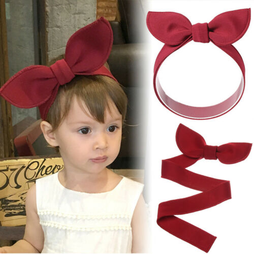 Cotton Adjustable Bow Hairband Baby Girl Headband Head Wraps Hair Accessories