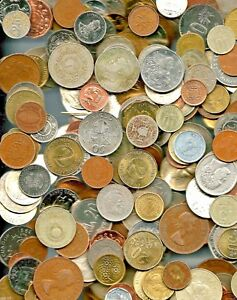 50 World Foreign Coins And 10 Different World MINT Uncirculated Banknotes