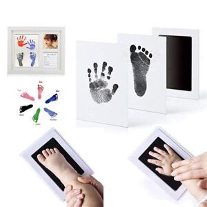 Inkless-Wipe-Baby-Kit-Hand-Foot-Print-Keepsake-Newborn-Footprint-Handprint