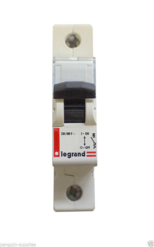 Legrand Lexic B50 MCB Circuit Breaker 50A Amp Single Pole Type B