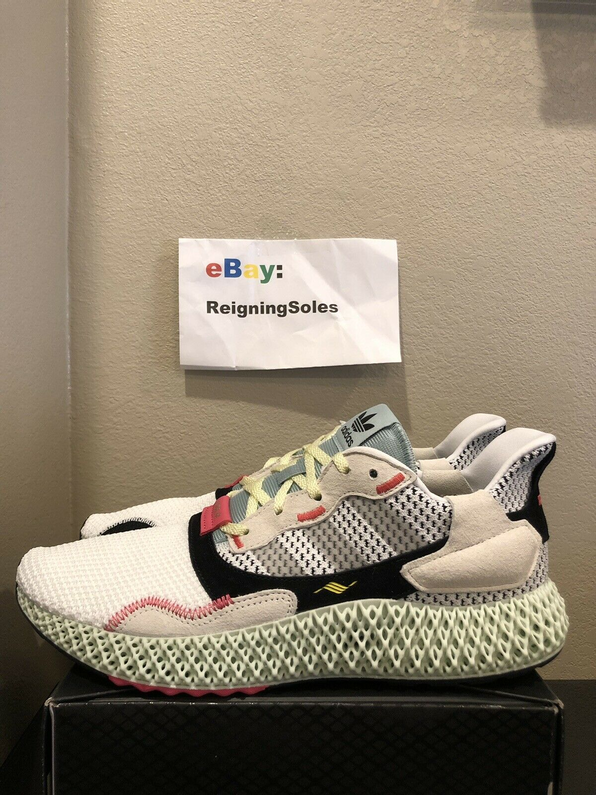 Adidas ZX 4000 4D Futurecraft B42203 Size 8.5 In Hand Ready To Ship